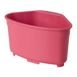 BEFLITA - 星盆容器/篩, 粉紅色   IKEA 香港及澳門 - PE811036_S3