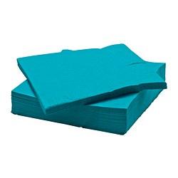 FANTASTISK - paper napkin, turquoise | IKEA Hong Kong and Macau - PE420010_S3