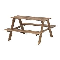 RESÖ - 兒童野餐檯, 染灰褐色 | IKEA 香港及澳門 - PE324767_S3