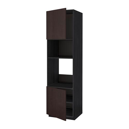 METOD 焗爐/微波爐用高櫃連櫃門層板組合