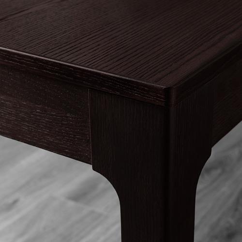 UDMUND/EKEDALEN - table and 2 chairs, dark brown brown/Viarp beige/brown | IKEA Hong Kong and Macau - PE640491_S4
