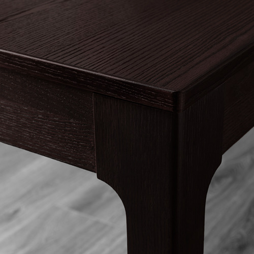 UDMUND/EKEDALEN - 一檯兩椅, 深褐色 褐色/Viarp 米黃色/褐色   IKEA 香港及澳門 - PE640491_S4