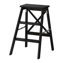 BEKVÄM - stepladder, 3 steps, black | IKEA Hong Kong and Macau - PE325081_S3