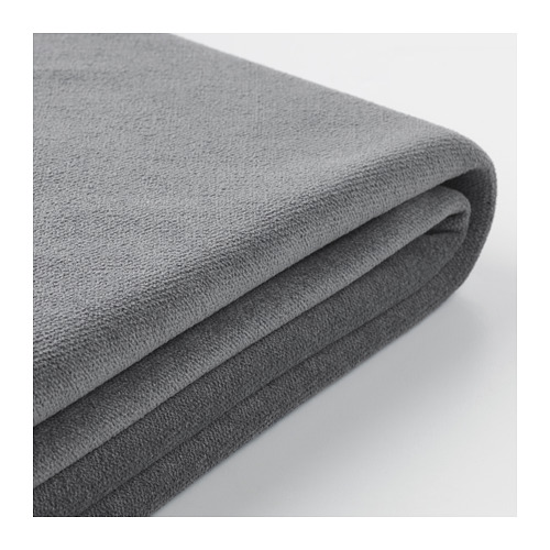 GRÖNLID - cover for footstool, Ljungen medium grey | IKEA Hong Kong and Macau - PE666606_S4