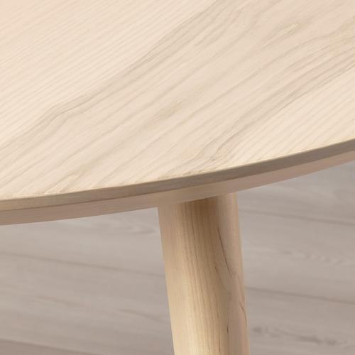 LISABO - table, Diameter 105cm, ash veneer | IKEA Hong Kong and Macau - PE695203_S4