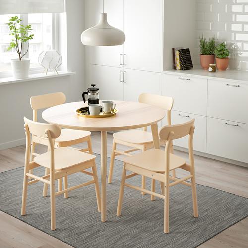 LISABO - table, Diameter 105cm, ash veneer | IKEA Hong Kong and Macau - PE726437_S4