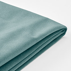 VINLIDEN - cover for 3-seat sofa, with chaise longue/Hakebo light turquoise | IKEA Hong Kong and Macau - PE811165_S3