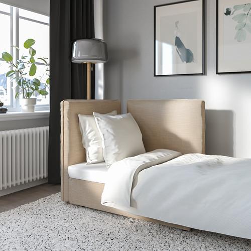 VALLENTUNA sofa-bed module with backrests