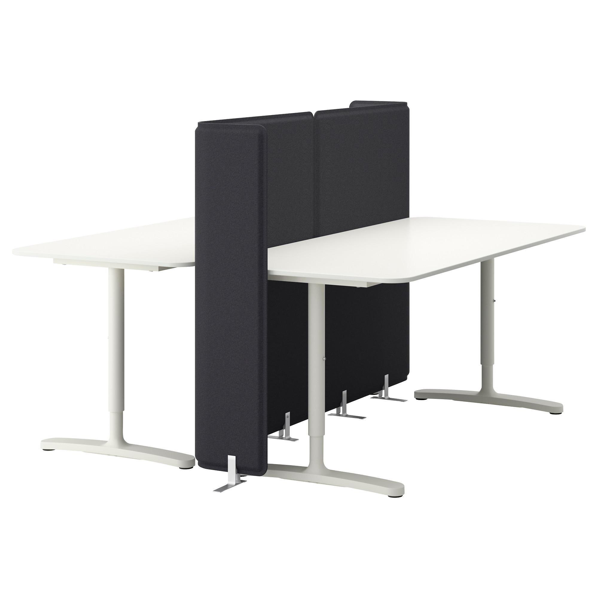 Bekant Desk With Screen White Ikea Hong Kong And Macau