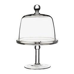 INBJUDEN - 連蓋糕餅架, 透明玻璃 | IKEA 香港及澳門 - PE811221_S3