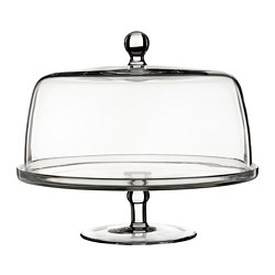 INBJUDEN - 連蓋糕餅架, 透明玻璃 | IKEA 香港及澳門 - PE811229_S3