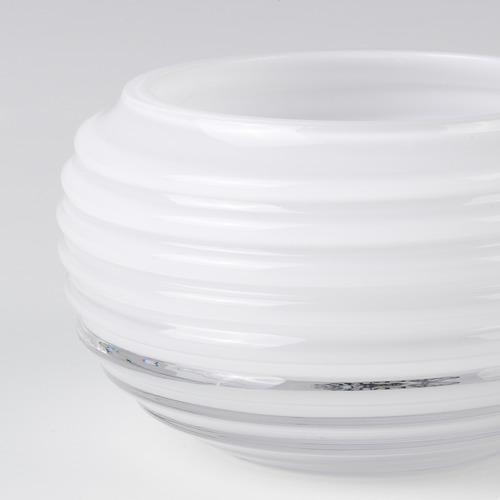 INBJUDEN - 燭燈座, 玻璃 白色   IKEA 香港及澳門 - PE811235_S4