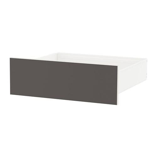 SKATVAL - drawer, white/dark grey | IKEA Hong Kong and Macau - PE666772_S4