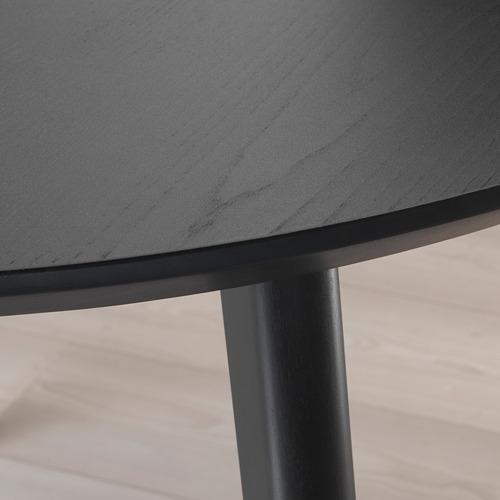LISABO - 檯, 直徑105cm, 黑色 | IKEA 香港及澳門 - PE695204_S4