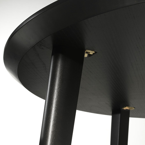 LISABO - 檯, 直徑105cm, 黑色 | IKEA 香港及澳門 - PE695206_S4