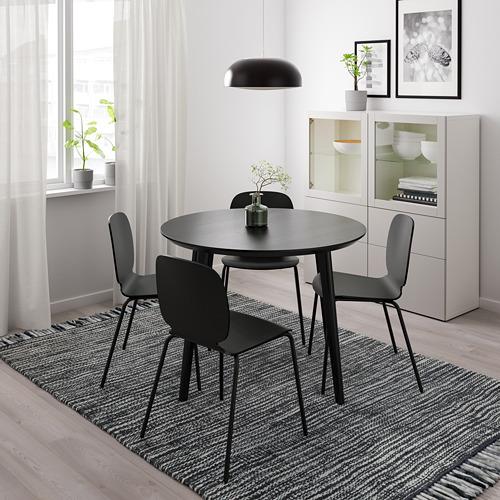 LISABO - 檯, 直徑105cm, 黑色 | IKEA 香港及澳門 - PE724136_S4