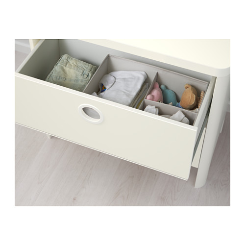BUSUNGE - chest of 2 drawers, white | IKEA Hong Kong and Macau - PE613261_S4