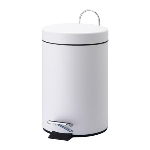VORGOD - 腳踏式垃圾桶, 白色 | IKEA 香港及澳門 - PE551266_S4