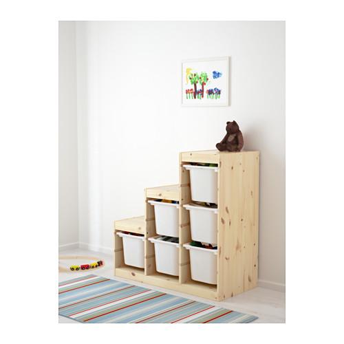 TROFAST - storage combination, light white stained pine/white | IKEA Hong Kong and Macau - PE613434_S4