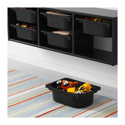 TROFAST - wall storage, black | IKEA Hong Kong and Macau - PE613446_S4
