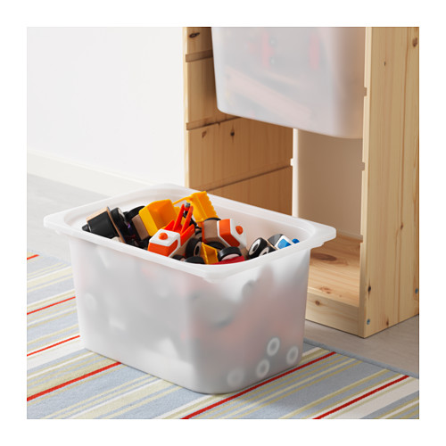 TROFAST - storage combination with boxes, light white stained pine/white | IKEA Hong Kong and Macau - PE613452_S4