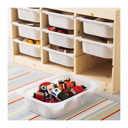 TROFAST - storage combination with boxes, light white stained pine/white | IKEA Hong Kong and Macau - PE613453_S4