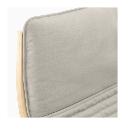POÄNG - 扶手椅, 樺木飾面/Knisa 淺米黃色 | IKEA 香港及澳門 - PE666934_S4