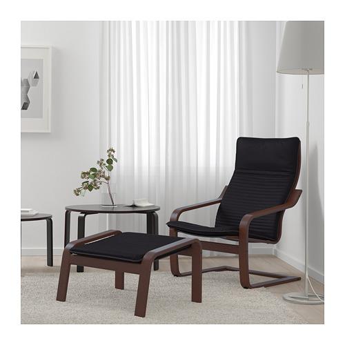 POÄNG - armchair, brown/Knisa black | IKEA Hong Kong and Macau - PE666956_S4