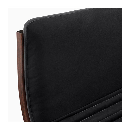 POÄNG - armchair, brown/Knisa black | IKEA Hong Kong and Macau - PE666954_S4
