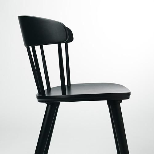 OMTÄNKSAM - 椅子, 炭黑色 | IKEA 香港及澳門 - PE713037_S4