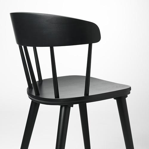 OMTÄNKSAM - 椅子, 炭黑色 | IKEA 香港及澳門 - PE713038_S4