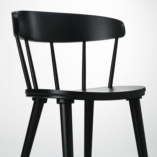 OMTÄNKSAM - 椅子, 炭黑色 | IKEA 香港及澳門 - PE713039_S4
