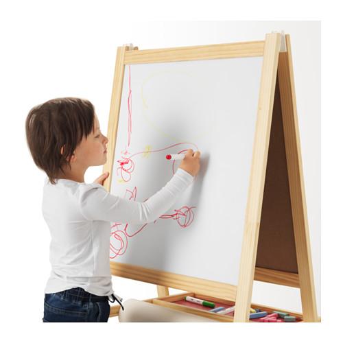 MÅLA - 畫架, 軟木/白色 | IKEA 香港及澳門 - PE613596_S4