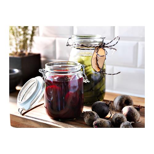 KORKEN - jar with lid, clear glass | IKEA Hong Kong and Macau - PE306756_S4