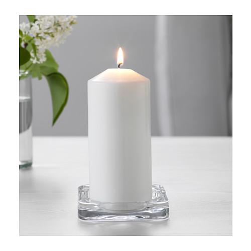 GLASIG - 蠟燭碟, 透明玻璃 | IKEA 香港及澳門 - PE551586_S4