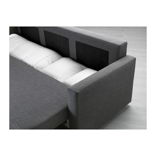 FRIHETEN three-seat sofa-bed with storage