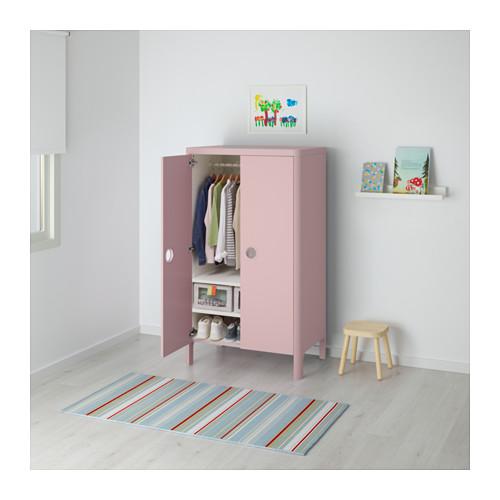 BUSUNGE - wardrobe, light pink | IKEA Hong Kong and Macau - PE613710_S4