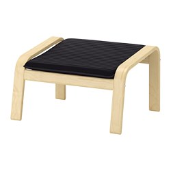 POÄNG - footstool, birch veneer/Knisa black | IKEA Hong Kong and Macau - PE667068_S3