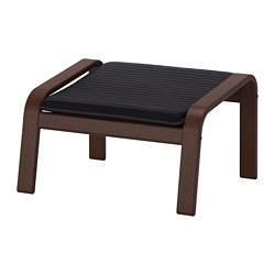 POÄNG - footstool, brown/Knisa black | IKEA Hong Kong and Macau - PE667090_S3