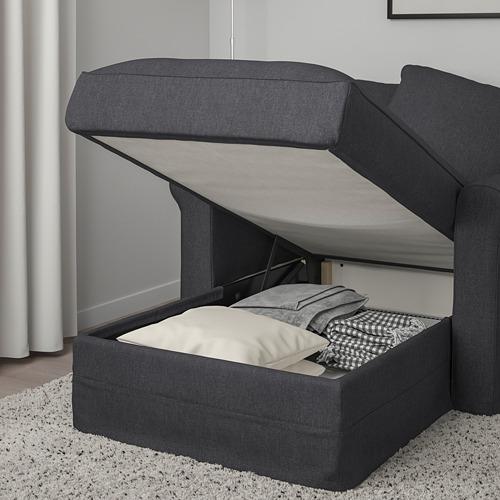GRÖNLID - 躺椅, Sporda 深灰色 | IKEA 香港及澳門 - PE755798_S4