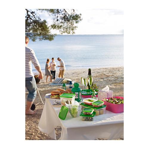 PRUTA - food container, set of 17, transparent/green | IKEA Hong Kong and Macau - PE309563_S4