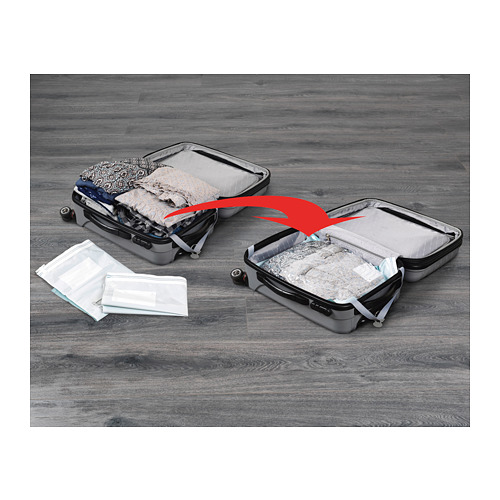 SPANTAD - 真空貯物袋,2件套裝, 淺藍色   IKEA 香港及澳門 - PE716446_S4