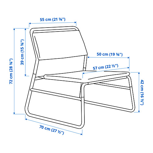 LINNEBÄCK easy chair