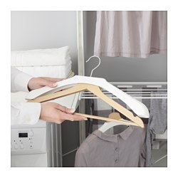 BUMERANG - shoulder shaper for hanger, white | IKEA Hong Kong and Macau - PE551670_S3