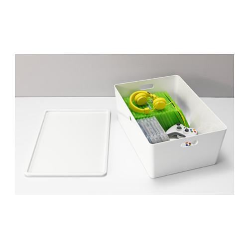KUGGIS - 連蓋箱, 白色 | IKEA 香港及澳門 - PE552052_S4