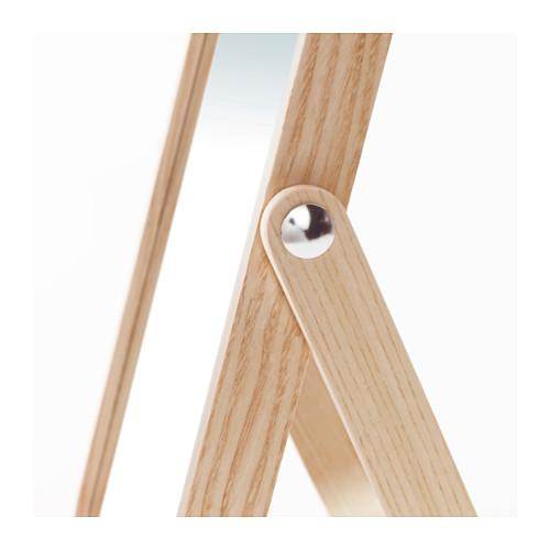 IKORNNES - 座檯鏡, 梣木 | IKEA 香港及澳門 - PE552272_S4
