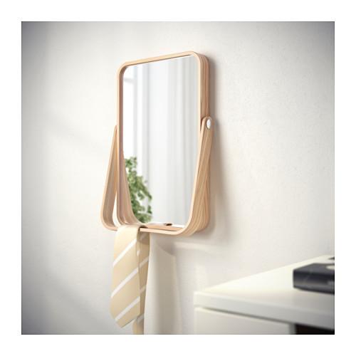 IKORNNES - 座檯鏡, 梣木 | IKEA 香港及澳門 - PE552275_S4