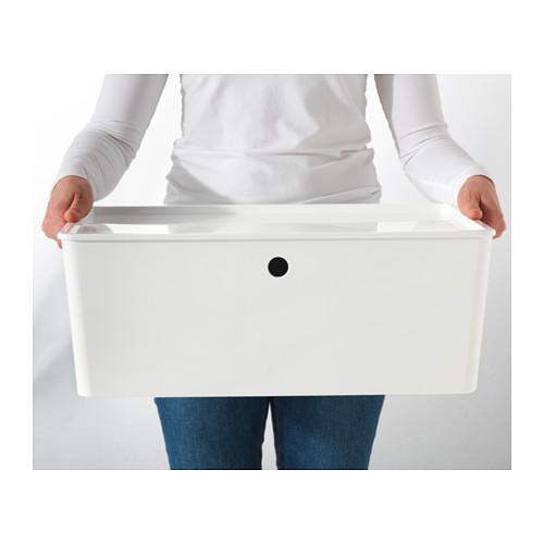 KUGGIS - 連蓋箱, 白色 | IKEA 香港及澳門 - PE552051_S4