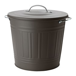 KNODD - bin with lid, grey | IKEA Hong Kong and Macau - PE552114_S3