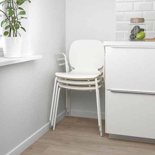 SVENBERTIL - 餐椅, 白色/Dietmar 白色 | IKEA 香港及澳門 - PE674089_S4